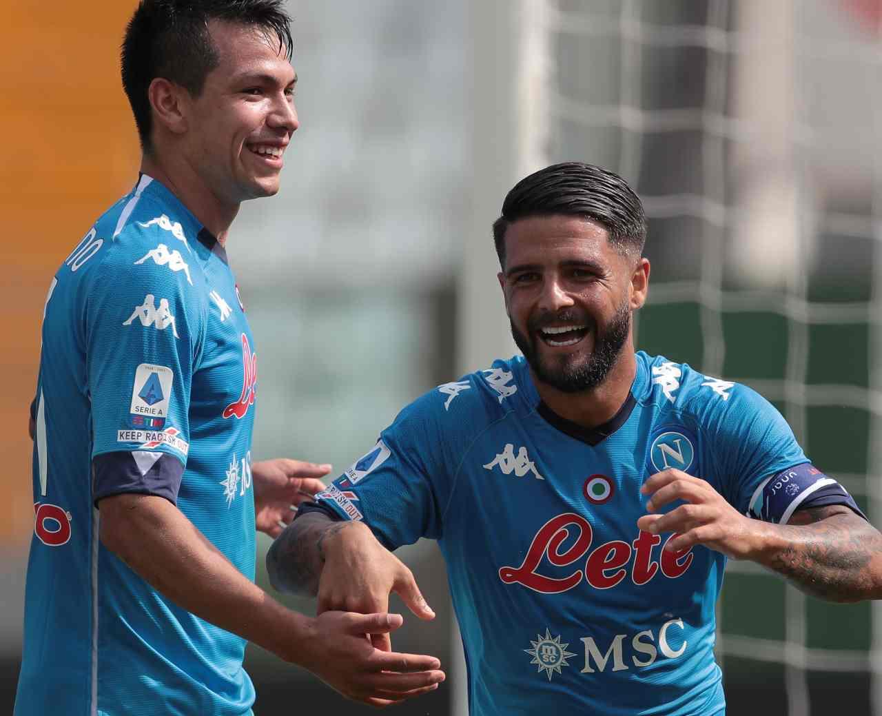 Calciomercato Napoli Lozano