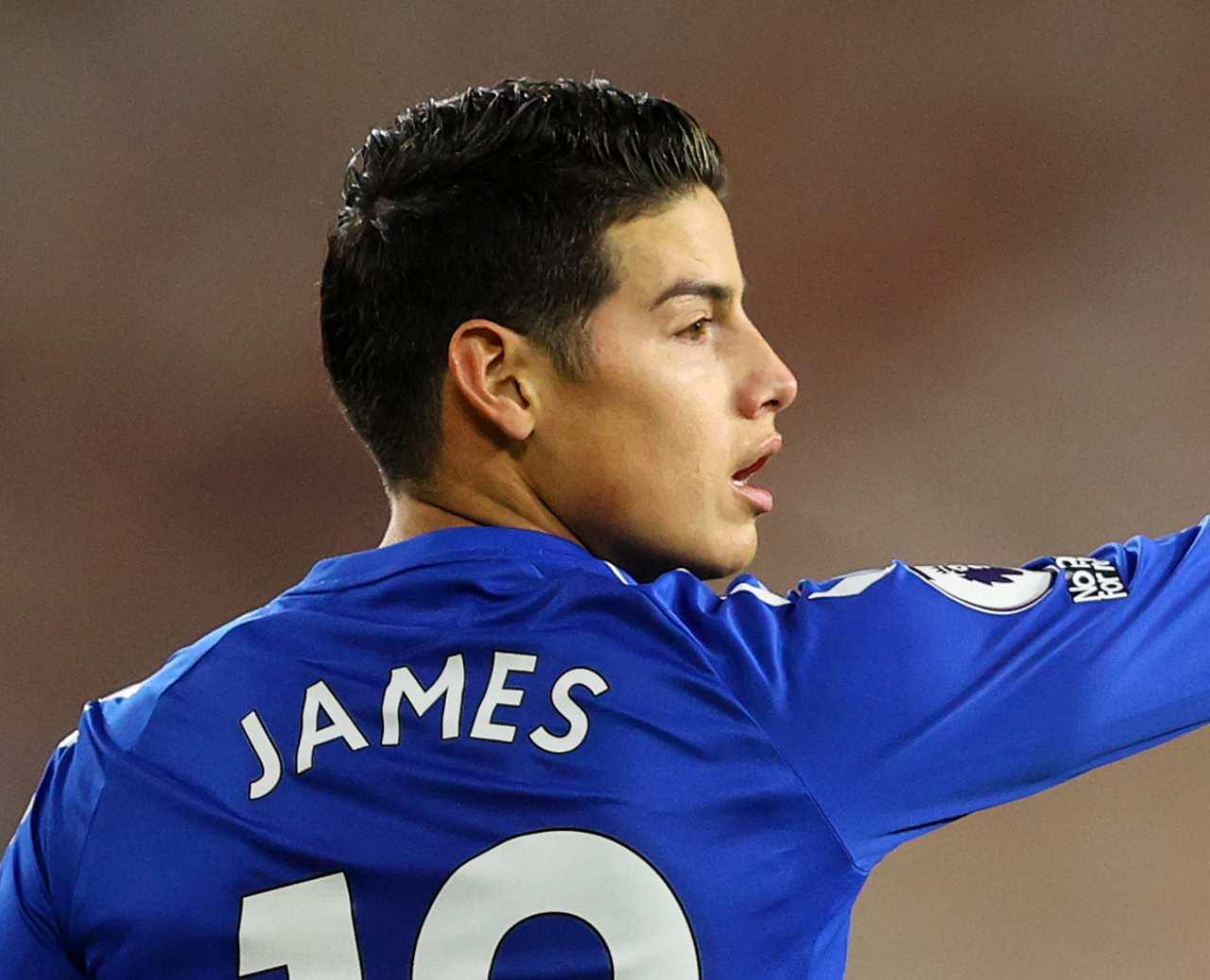 Calciomercato milan James Rodriguez