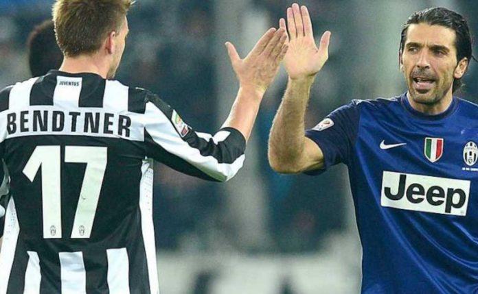 Juventus Bendtner ritiro