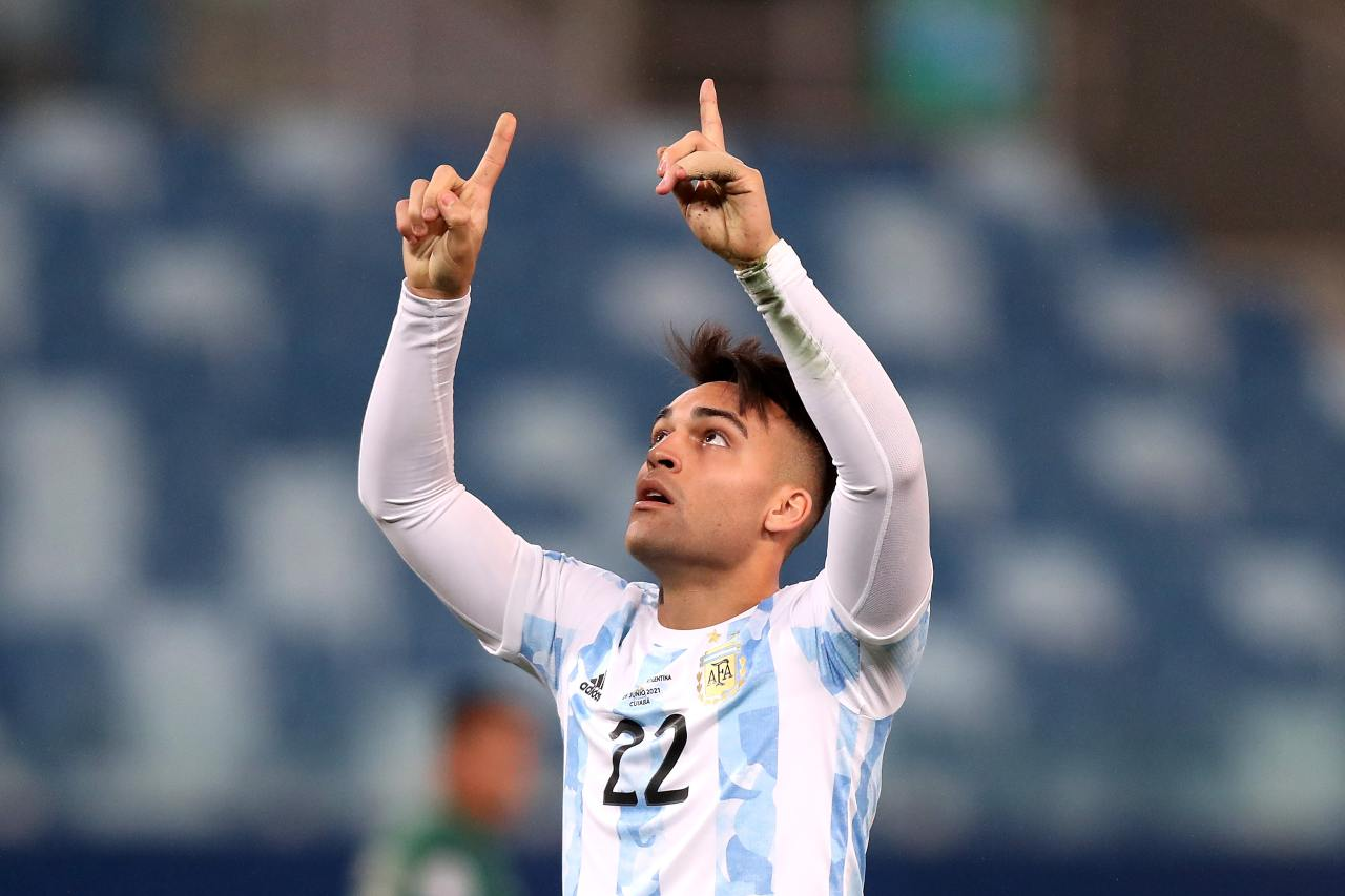 Inter Lautaro Martinez Tottenham