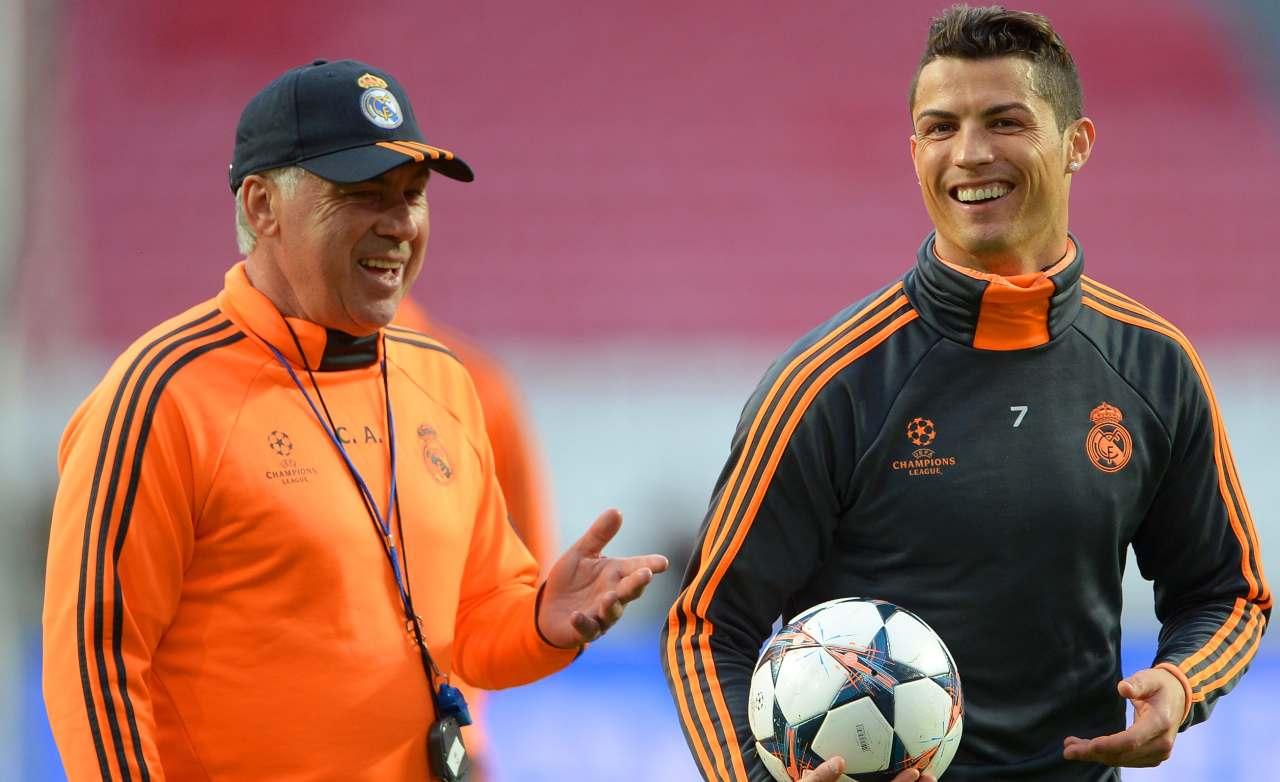 Ronaldo Ancelotti Real Madrid