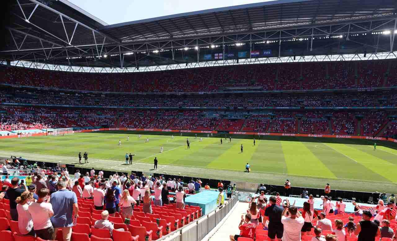 Euro 2020 Wembley Stadium