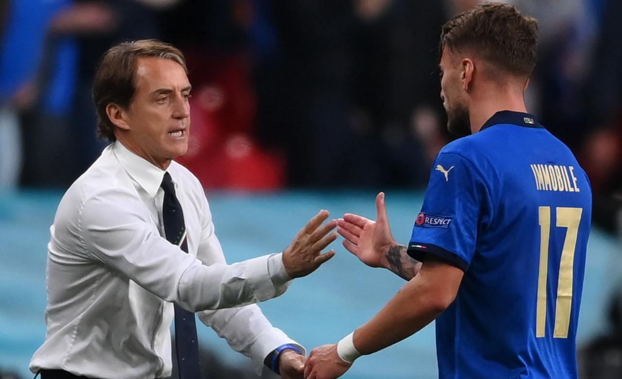 Immobile Mancini EURO 2020