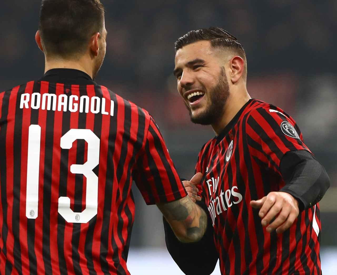 Calciomercato Milan Romagnoli