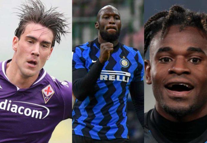 Calciomercato Inter Zapata Vlahovic