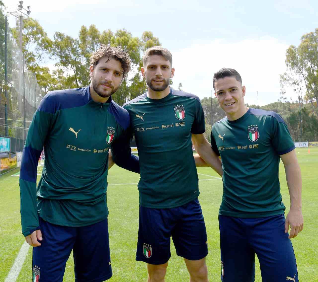 Calciomercato Inter sassuolo Raspadori Berardi Locatelli
