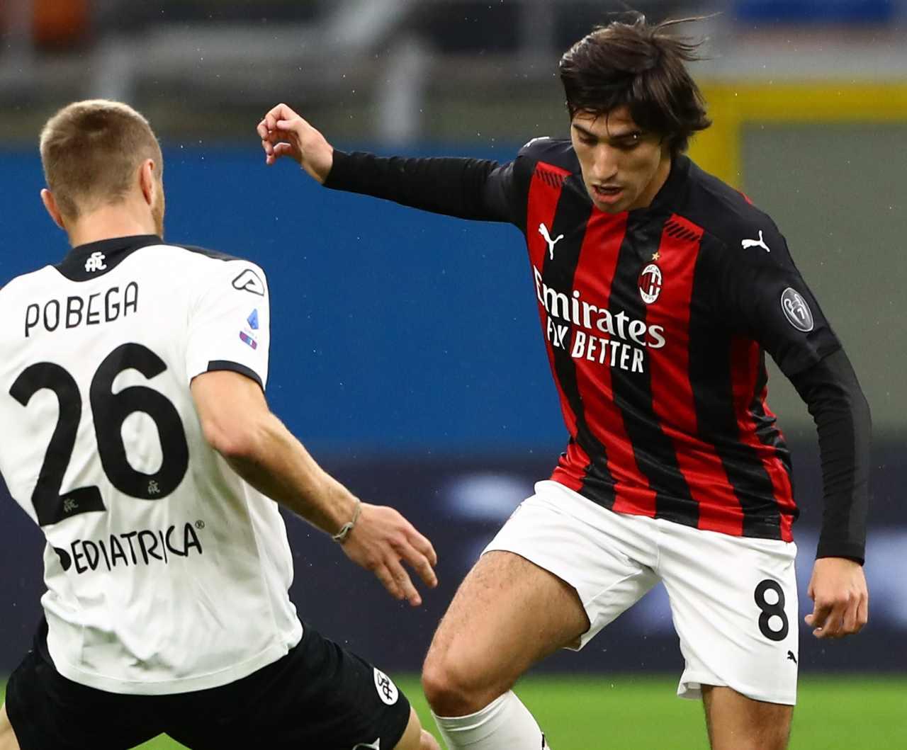 Calciomercato Milan Pobega