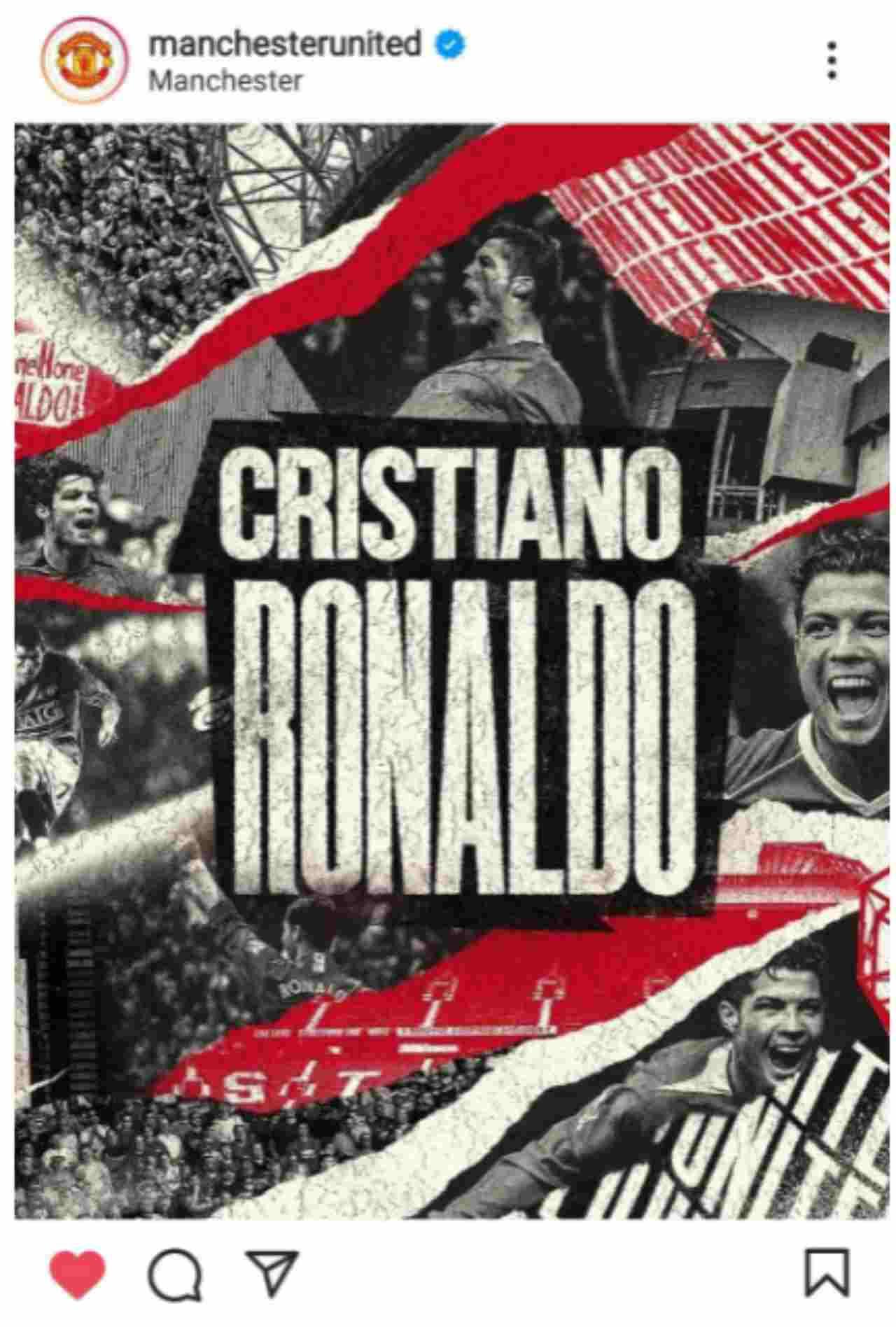 Calciomercato, Ronaldo al Manchester United: è UFFICIALE (FOTO)