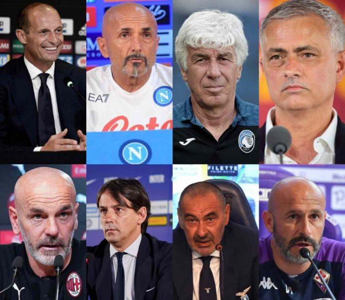 Conferenze stampa Serie A 6a giornata