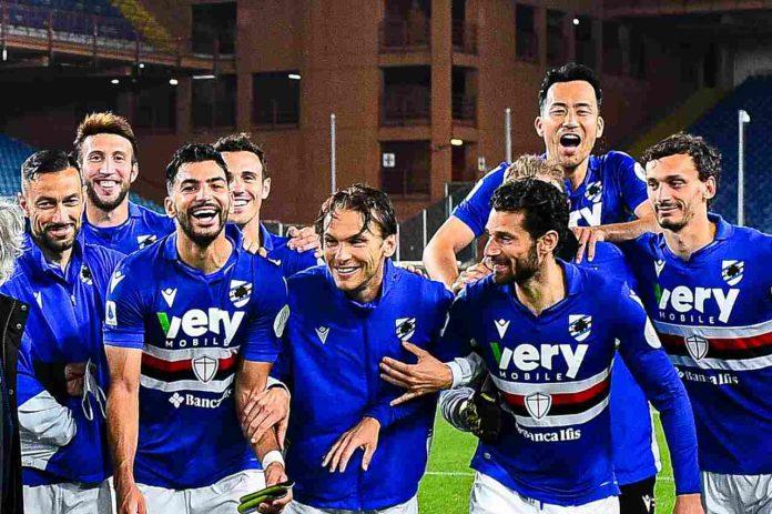 Infortunio Sampdoria
