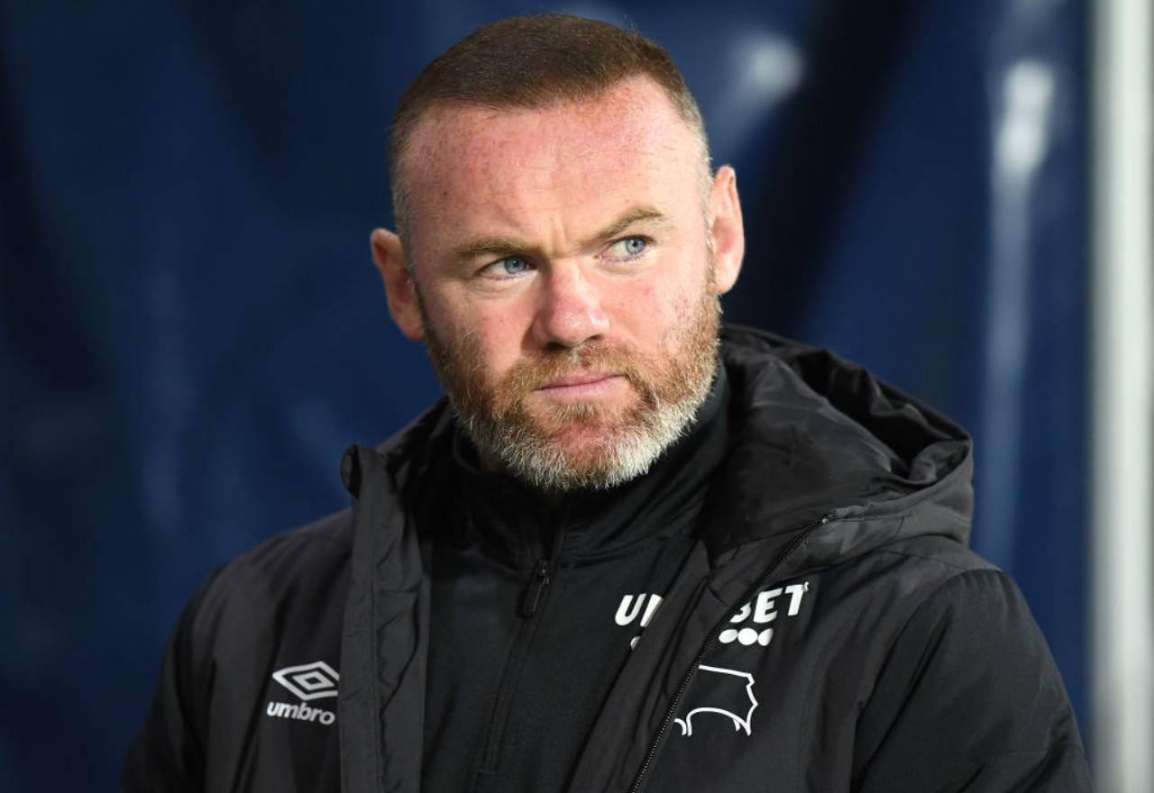 Wayne Rooney derby county