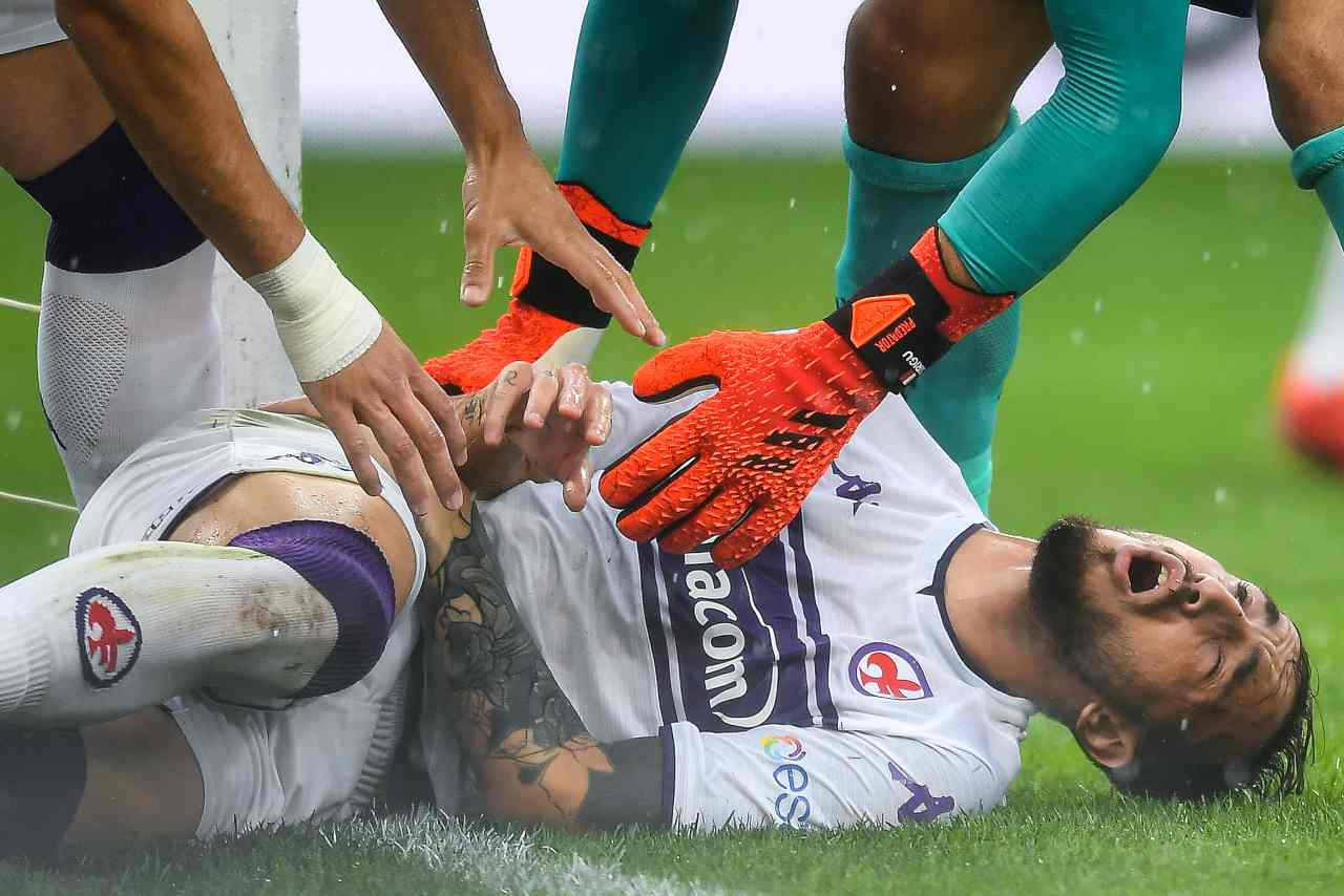Fiorentina, infortunio Castrovilli