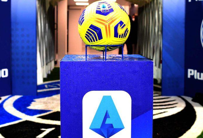 Logo e pallone Serie A